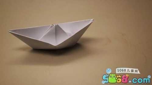 纸船的折法 最简单的折纸船方法