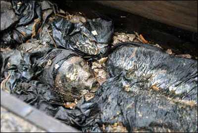 上海挖出可疑古墓 两女合葬皮肤另有弹性(组图)