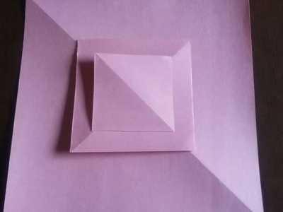如何折纸玫瑰 怎么折纸制作三层嵌套玫瑰花的折法图解