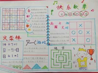 小学数学手抄报资料 小学一年级数学手抄报的内容资料