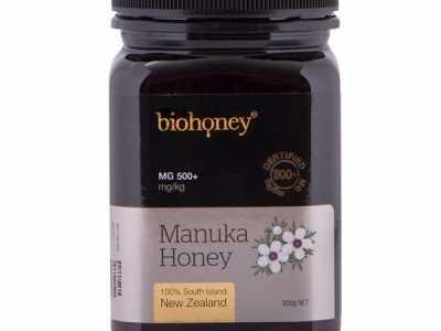 蜂产品医疗保健500问 Biohoney麦卢卡蜂蜜MGO500+