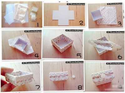 自制首饰收纳盒 手工制作漂亮的首饰收纳盒