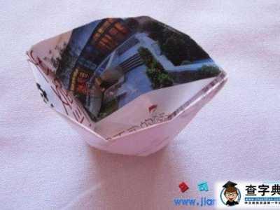 手工折纸垃圾桶 手工垃圾桶折纸方法
