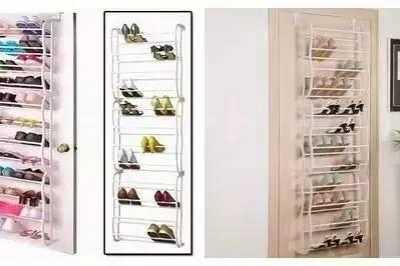 鞋子怎么收纳 再也不用担?#30007;?#23376;没地方放