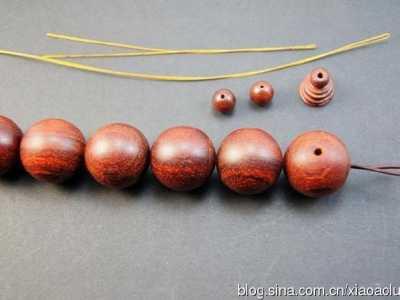 穿珠子的方法 穿手串的方法示意图