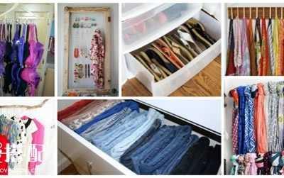 衣物收纳整理技巧 实用的衣服收纳整理小技巧