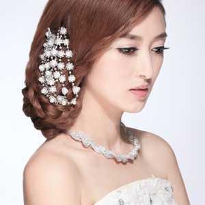韩式发辫 2013最新时尚新娘造型