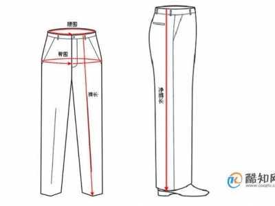 裤子尺码对照表 如何选择适合自己的尺码