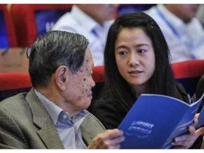 杨振宁的妻子 97岁杨振宁同意妻子改嫁