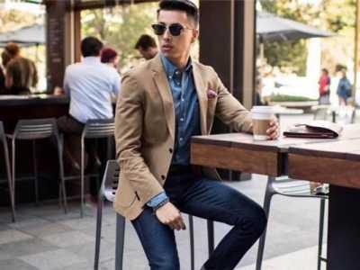 男士牛仔短裤图片 男生穿什么样的牛仔裤好看